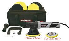 Dino KRAFTPAKET 15mm-900W Exzenter Poliermaschine Stufenlos im XXL-Set 125/150mm