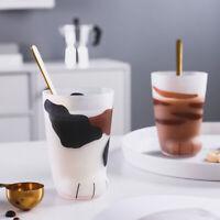 Creative Cute Cat Paws Glass Tiger Paws Mug Office Coffee Mug Tumbler PersoW7D1