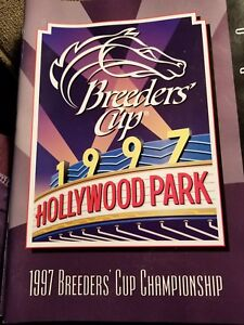 1997 breeders cup official program.   Mint condition.
