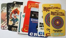 Lot 10 Different Roger Clyne & The Peacemakers Laminated Crew Passes Backstage