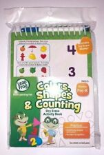 Leap Frog Dry Erase Activity Book Colors, Shapes and Counting