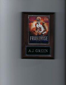 A.J. GREEN PLAQUE CINCINNATI BENGALS FOOTBALL NFL C