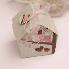 50xHouse Wedding Favors Candy Box Casamento Wedding Favors Baby shower Gift Box