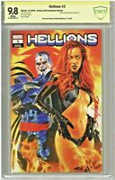 Hellions #3 CBCS 9.8 SS Comics Elite Exclusive Edition Mike Mayhew Variant Cover