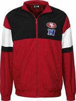 San Francisco 49ers Windbreaker Football New Era Größe Small SALE Jacke TOP
