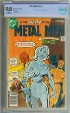 METAL MEN #54 CBCS 9.8 WHITE PAGES