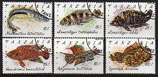 Tanzania 1040-45, O, Fish