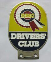 BMC DRIVERS CLUB CAR GRILL BADGE EMBLEM LOGOS METAL CAR GRILL BADGE EMBLEM