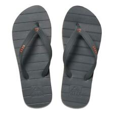 Reef NEW Men's Switchfoot Flip Flops - Grey / Orange BNWT