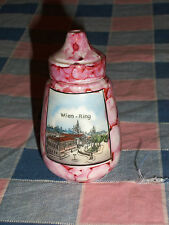 Beautiful Fun ? Sugar Shaker Wien-Ring  Austria  3 1/4 Inch High