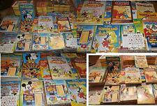 LOTTO PZ. 82 TOPOLINO (anno 1990/1992)+ mega almanacco+ grandi classici+ gadgets