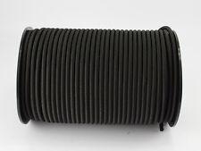 (0,65 Euro/m) 30m Expanderseil 6mm schwarz Gummi Planen Spannseil elast. Seil