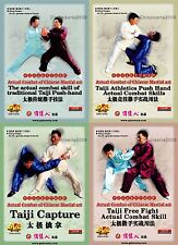 Actual Combat Taichi of Chinese Martial Art Set complate by Zhang Dongwu 5DVDs