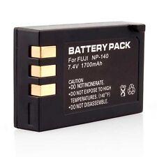 2X 1700 Mah NP-140 Battery  For FUJI FUJIFILM FINEPIX S100FS S200EXR