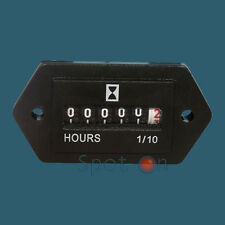 Hour Meter - General purpose - 6 to 80 Volts DC