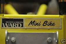 minibike mini bike decals wards sticker smaller decal