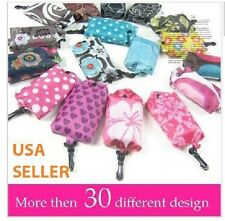 15 pcs lot Foldable Shopping Tote Eco Reusable Recycle Bag wholesale supermarket