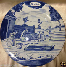 "DELFT HOLLAND METROPOLITAN MUSEUM OF ART MONTH OF THE YEAR NOVEMBER PLATE 9"" MMA"
