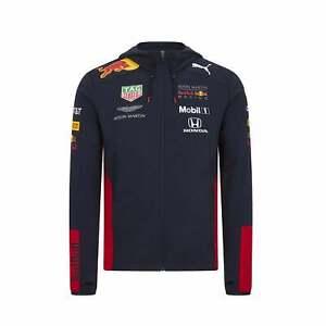 Aston Martin Red Bull Racing Mens Team Hooded Sweat Jacket 2020