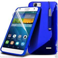 Cover e custodie ganci blu in pelle sintetica per cellulari e palmari