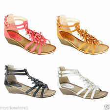 Gladiator Casual Floral Sandals & Beach Shoes for Women