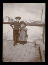 fotografia d'epoca albumina fine '800 BAMBINO-CHILD-KIND-ENFANT 9