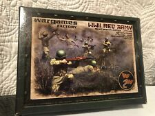 WWII RED ARMY SIVIET INFANTRY PLATOON LATE WAR  WARGAMES FACTORY