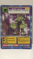 Digimon First Edition Boltmon Trading Card - RARE - Gold Stamped / 1999 Bandai