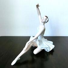 """26cm Porzellan Figur Skulptur von Royal Dux Bohemia """"Ballerina"""" signiert selten"""