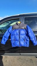 Boy's Vintage The North Face Down Nylon Jacket Coat Puffer Size XL