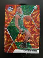 CARSEN EDWARDS 2019-20 Panini Mosaic  Reactive Orange Prizm RC SP #220 Celtics