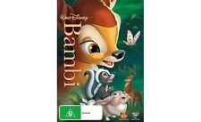 BAMBI - BRAND NEW & SEALED R4 DVD (WALT DISNEY, 1942) REMASTERED 2013 RELEASE