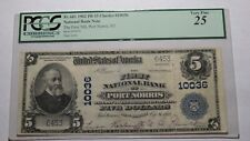 $5 1902 Port Norris New Jersey NJ National Currency Bank Note Bill! #10036 VF25!