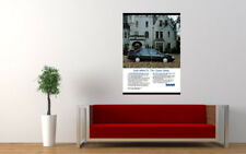"1989 SAAB 9000 CD AD AD PRINT WALL POSTER PICTURE 33.1""x23.4"""