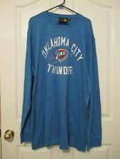 NBA NWT OKLAHOMA CITY THUNDER MEN'S LONG SLEEVE SHIRT SIZE 5XL