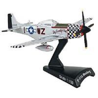 DARON 1:100 WWII P-51D Mustang Big Beautiful Diecast Plane Aircraft FREE SHIP
