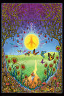 BACK TO THE GARDEN OF PEACE - MIKE DUBOIS ART POSTER - 24x36 - 5012