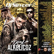 DJ SINCERO Trap Alkolicoz 8 Reggaeton Latin Spanish Mixtape CD MIX Farruko Anuel