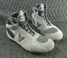 Dainese Merida D1 Mens Motorcycle Shoes Gray/Black - Size 7.5