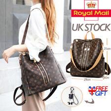 Fashion Women Faux Leather Handbag Rucksack Lady Backpack Shoulder Bag Rucksack