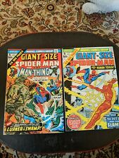 Giant-Size Spider-Man #5 and #6.  Decent shape