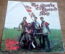TENPOLE TUDOR swords of a thousand men*love and food 1981 UK STIFF PS 45
