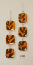 """Pepper Plant"" Triple Hanging Earrings by Shari Dixon Jewelry (E4038)"