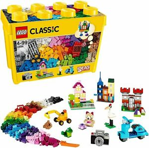 Lego 10698 Classic Large Creative Brick Box Contains 790 Pieces Ages 4 + NEW