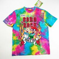 Nickelodeon mens S/S TSHIRT MULTICOLORED  SIZE LARGE 100% AUTHENTIC Rugrats