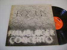 Focus / Hamburger Concerto / 1974 Original Polydor UK 1st LP