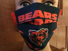 Chicago Bears Facemask, Kickoff Special, High Quality Handmade, Cotton