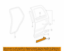 Molding Kit Rear Door GMC Jimmy 2WD 1996-1997 LH 2 Piece Insert GM 12471981  L1