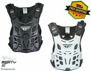 Fly CE Revel Race Roost Guard MX Enduro OffRoad Dirt Bike Trail Chest Protector