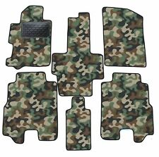 Armee-Tarnungs Autoteppich Autofußmatten Auto-Matten für Honda FR-V 2004-2009